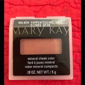 Mary Kay Mineral Cheek Color Golden Copper .18oz